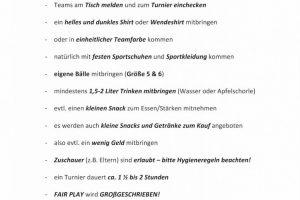 Infos Spielerinnen + Spieler 3x3
